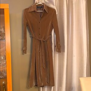 Vintage fabric trench coat